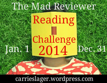 The Mad Reviewer 2014 Reading Challenge
